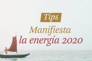 Manifiesta la energía 2.020